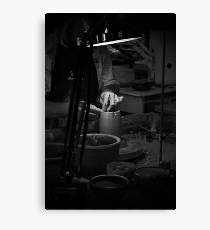 The Potter Canvas Print