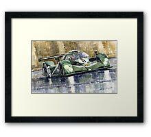 Bentley Prototype EXP Speed 8 Le Mans racer car 2001 Framed Print