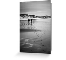 Dunnet Beach, Boxing Day 2010, Caithness, Scottish Highlands Greeting Card