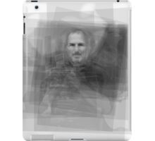 Steve Jobs Overlay iPad Case/Skin