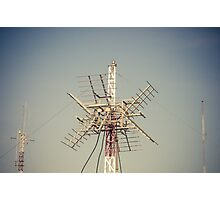 Radio Antenna Photographic Print