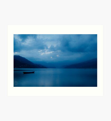 Tranquil Blue Art Print