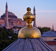 Istanbul Skyline by KerryPurnell
