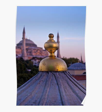 Istanbul Skyline Poster