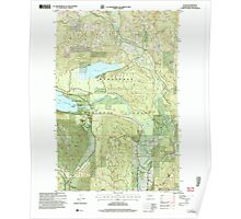 USGS Topo Map Washington State WA Plain 243152 2004 24000 Poster