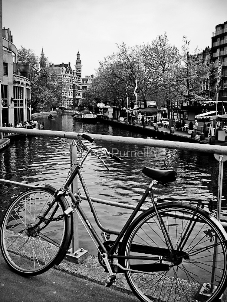 Bike Riding Around Amsterdam by KerryPurnell