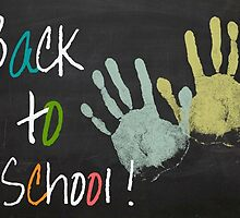 Back To School BlackBoard by leeanne10g