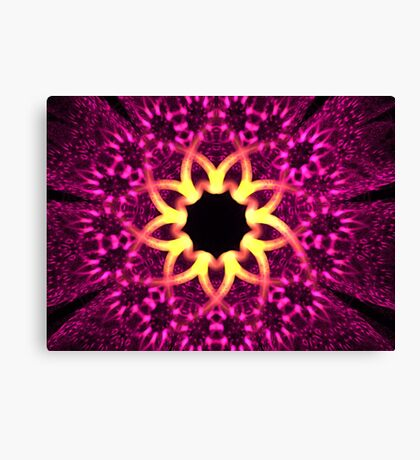 Fuchsia Flowers Canvas Print