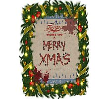 Fargo [Merry Xmas] Photographic Print