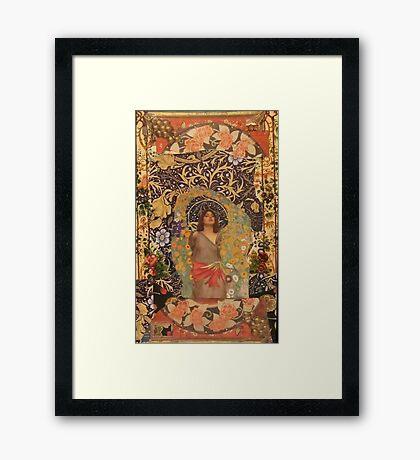 In The Beginning Framed Print