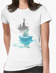 global warming illustration / print : NEED MORE ICE NOT OIL T-Shirt