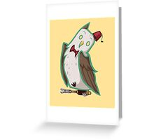 The Eleventh Who Greeting Card