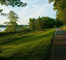 Evening Stroll by Jeanne Sheridan