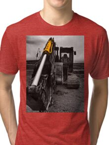 Big Cat 2 tee Tri-blend T-Shirt