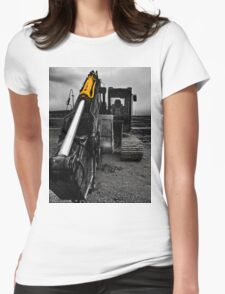 Big Cat 2 tee Womens Fitted T-Shirt