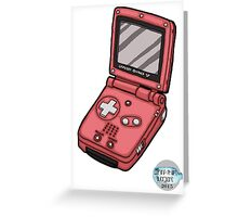 Handheld Console #04 Greeting Card