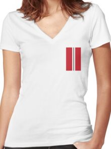United iPhone Cover Women's Fitted V-Neck T-Shirt