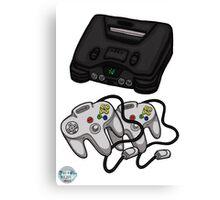 Videogame console #5 Canvas Print