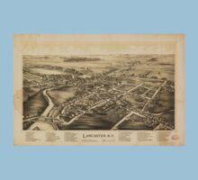 Panoramic Maps Lancaster NY Baby Tee