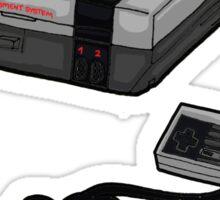 Videogame console #4 Sticker