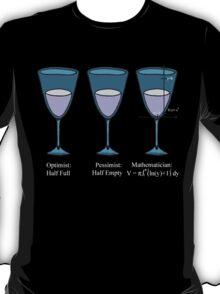 Optimist (White letters) T-Shirt