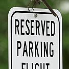I have my own personal parking place! by jozi1