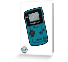 Handheld Console Greeting Card