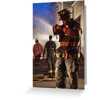 Man of Fire Greeting Card