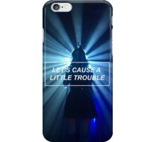TROUBLE HALSEY iPhone Case/Skin