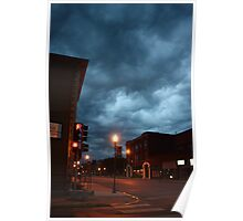 Small town storm coming Poster