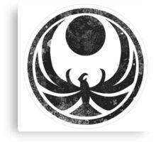Skyrim-Nightingale Symbol Canvas Print