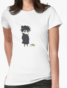 A Detective and His Hedgehog Womens Fitted T-Shirt