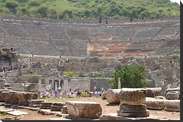 Theatre at Ephesus by taiche