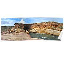 Woolshed Cave, Talia Caves, Eyre Peninsula, South Australia Poster