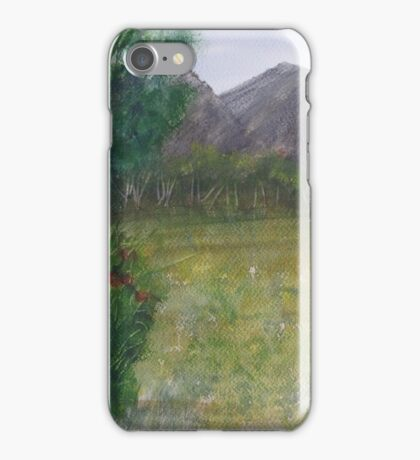 Distant Mountains. iPhone Case/Skin