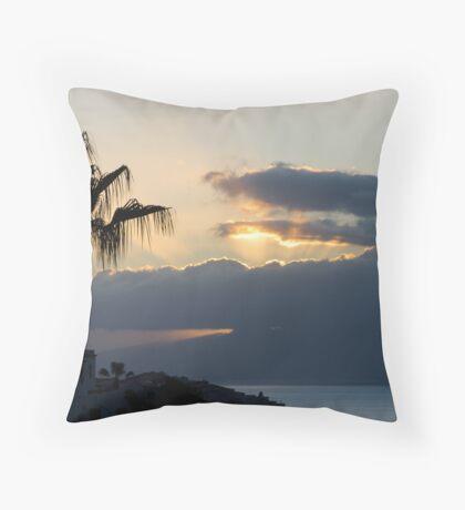 Los Gigantes, Tenerife Throw Pillow