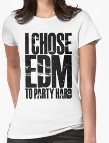 I Chose EDM To Party Hard (black) T-Shirt