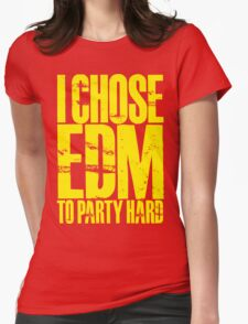 I Chose EDM To Party Hard (yellow) T-Shirt