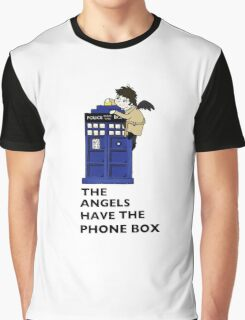 Castiel Has The Phone Box Graphic T-Shirt