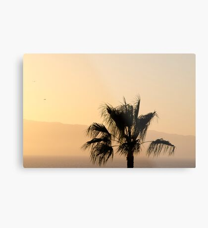 Sunset over La Gomera Metal Print
