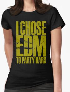 I Chose EDM To Party Hard (golden) T-Shirt