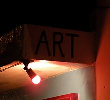 Art at Night by tonihalverson