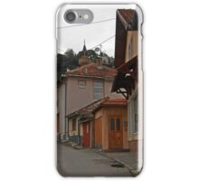 Pink house iPhone Case/Skin