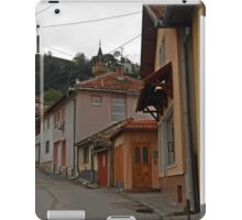 Pink house iPad Case/Skin
