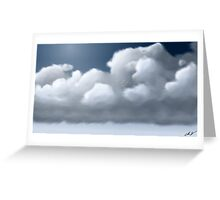 Pillows In Heaven Greeting Card