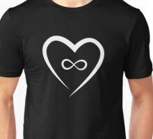 Infinite Love (White) Unisex T-Shirt