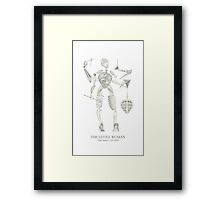 THE LITTLE WOMAN - TLW Series  •  No. 0101 Framed Print