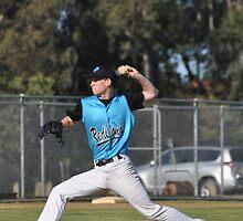 Baseball Pitcher by Karen Waples