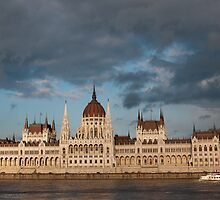 Parliment Budapset by Cliff Williams