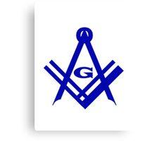 Freemason iPhone / Samsung Galaxy Case Canvas Print